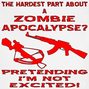 Hardest Part About The Zombie Apocalypse - Adjustable Apron