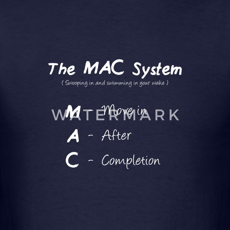 The MAC System - White T-Shirts - Men's T-Shirt