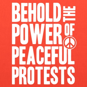 Peaceful Protests - Tote Bag