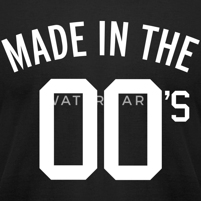 Made In The 00's  T-Shirts - Men's T-Shirt by American Apparel