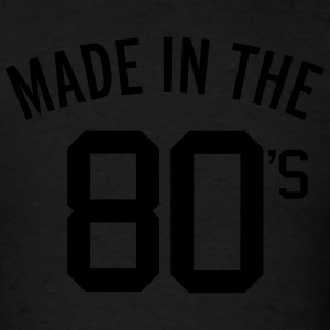 Made In The 80's  Molletons - T-shirt pour hommes