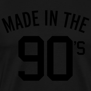 Made In The 90's  Hoodies - Men's Premium T-Shirt