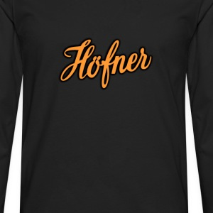Hofner  Orange - Men's Premium Long Sleeve T-Shirt