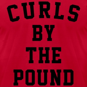 curls by the pound Long Sleeve Shirts - Men's T-Shirt by American Apparel