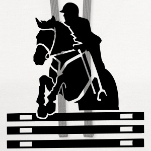 Show jumping T-Shirts - Contrast Hoodie
