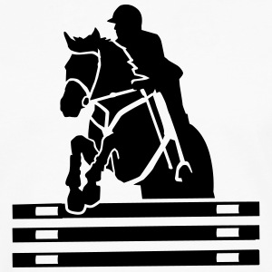 Show jumping T-Shirts - Men's Premium Long Sleeve T-Shirt