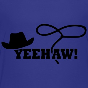 Cowboy Yeehaw Kids' Shirts - Toddler Premium T-Shirt