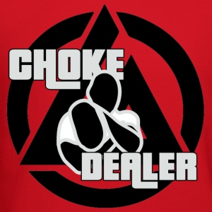 Choke Dealer (Black) T-Shirts - Crewneck Sweatshirt