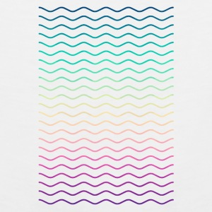 Minimal Geometry Hipster Lines (colorful/rainbow) Accessories - Men's Premium Tank