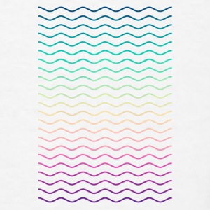 Minimal Geometry Hipster Lines (colorful/rainbow) Accessories - Men's T-Shirt