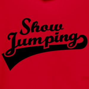 Show Jumping Women's T-Shirts - Unisex Fleece Zip Hoodie by American Apparel