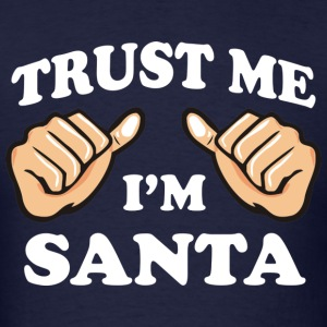 TRUST ME I'M SANTA MEN LONG SLEEVE T SHIRT - Men's T-Shirt