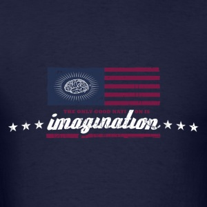 The only good nation is imagination Hoodies - Men's T-Shirt
