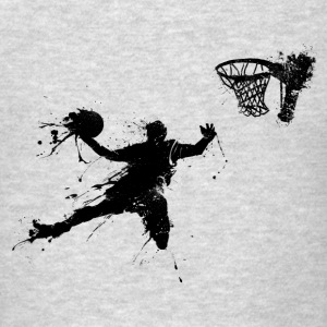 basketballer dunking II Hoodies - Men's T-Shirt