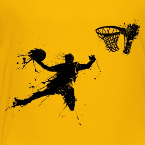 basketballer dunking II Kids' Shirts - Toddler Premium T-Shirt
