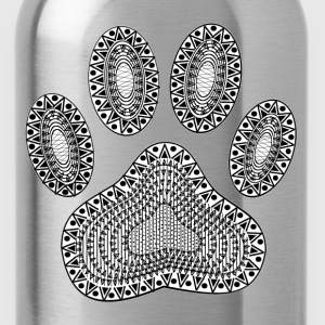Ink Paw Print - Water Bottle