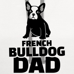 French Bulldog Dad T-Shirts - Contrast Hoodie