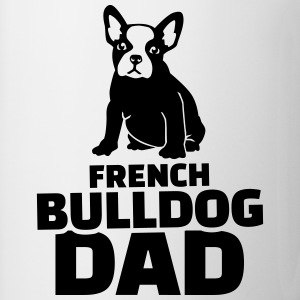 French Bulldog Dad T-Shirts - Coffee/Tea Mug