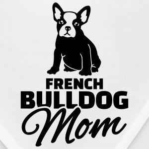 French Bulldog Mom Women's T-Shirts - Bandana