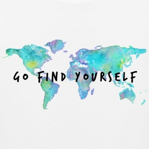 Go Find Yourself - Travel The World! Hoodies - Men's Premium Tank