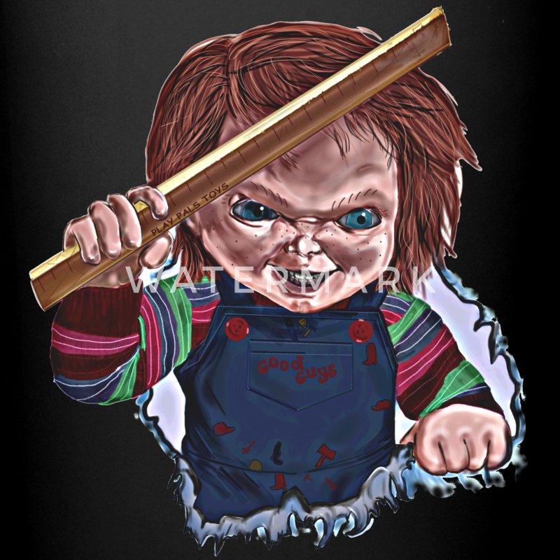 Killer Chucky coffee cup - Full Color Mug