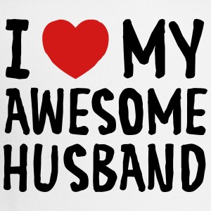 I Love (Heart) My Awesome Husband Women's T-Shirts - Trucker Cap