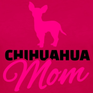 Chihuahua Mom Kids' Shirts - Women's Premium Long Sleeve T-Shirt