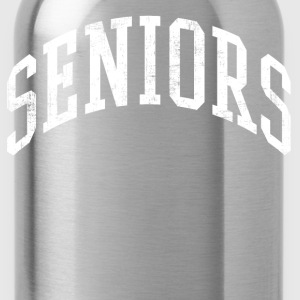 Distressed Seniors T-Shirts - Water Bottle
