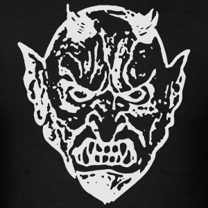 Devil Face 2 Hoodies - Men's T-Shirt