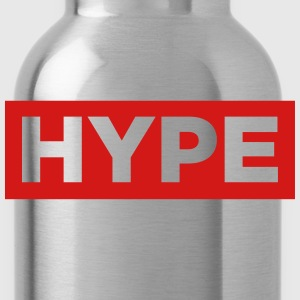hype red box Long Sleeve Shirts - Water Bottle