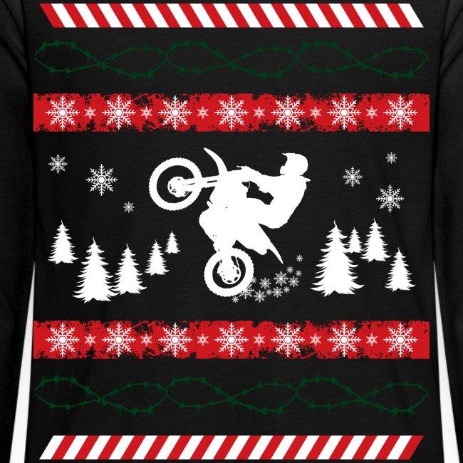 Ugly Christmas Dirtbiker MX