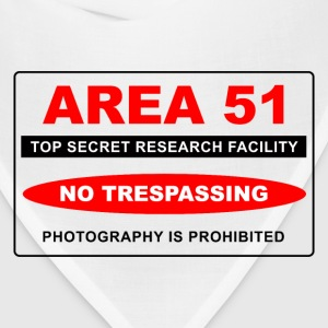 Area 51 Secret - Bandana
