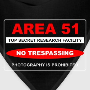Area 51 Top Secret - Bandana