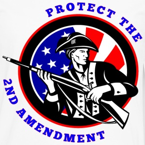 Protect The 2nd Amendment Revolution  - Men's Premium Long Sleeve T-Shirt