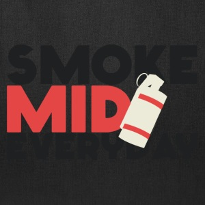 Smoke Mid Everyday CS:GO Red T-Shirt - Tote Bag