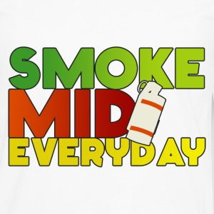 Smoke Mid Everyday Color T-Shirt - Men's Premium Long Sleeve T-Shirt