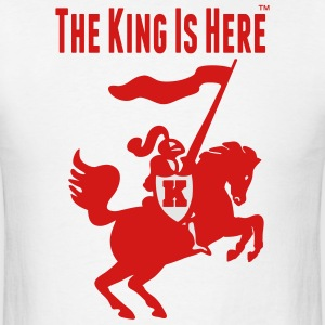 THE KING IS HERE Hoodies - Men's T-Shirt