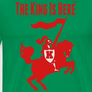 THE KING IS HERE Hoodies - Men's Premium T-Shirt