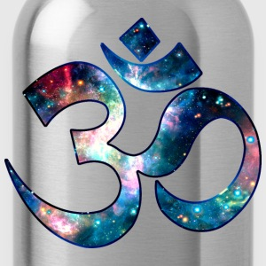 Space OM, Sound of Universe, Symbol Evolution T-Shirts - Water Bottle