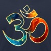Space OM, Sound of Universe, Symbol Evolution T-Shirts - Men's T-Shirt by American Apparel