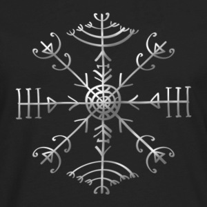 Veldismagn - Fortune & Protection Symbol, Iceland  - Men's Premium Long Sleeve T-Shirt