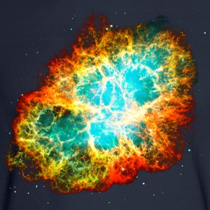 Supernova, Crab Nebula, Space, Galaxy, Milky Way T-Shirts - Men's Long Sleeve T-Shirt
