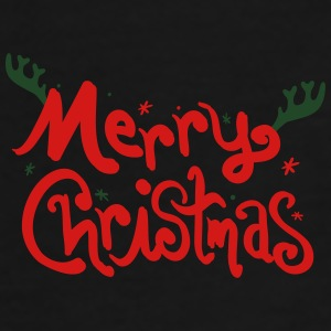 Merry Christmas  typo Full Color Mug - Men's Premium T-Shirt