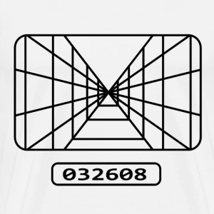 Star wars - Pilot target - Men's Premium T-Shirt