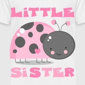 Pink Ladybug Little Sis Kids' Shirts - Toddler Premium T-Shirt