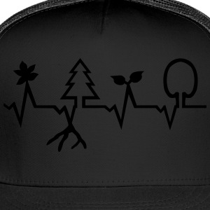 Nature - Heartbeat T-Shirts - Trucker Cap