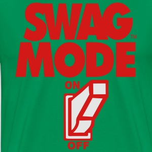 SWAG MODE ON Hoodies - Men's Premium T-Shirt