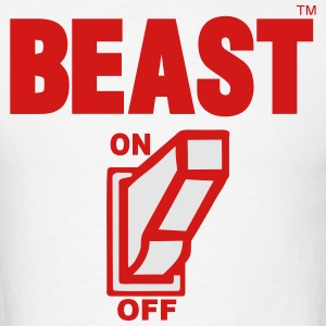 BEAST ON Hoodies - Men's T-Shirt