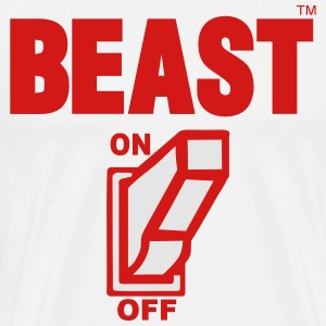 BEAST ON Hoodies - Men's Premium T-Shirt