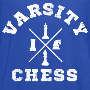 Varsity Chess T-Shirts - Women's Flowy Tank Top by Bella